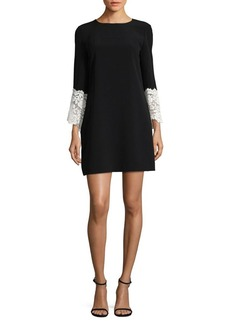 Tahari Arthur S. Levine Long-Sleeve Shift Dress