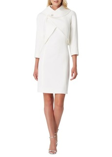 Tahari Arthur S. Levine Missy Two-Piece Sheath Dress & Jacket Set