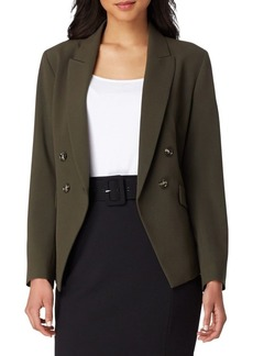 Tahari Arthur S. Levine Peak Lapel Double Breasted Jacket