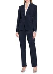 Tahari Arthur S. Levine Pinstriped Jacket and Pant Suit