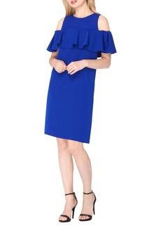 Tahari Arthur S. Levine Ruffle Dress