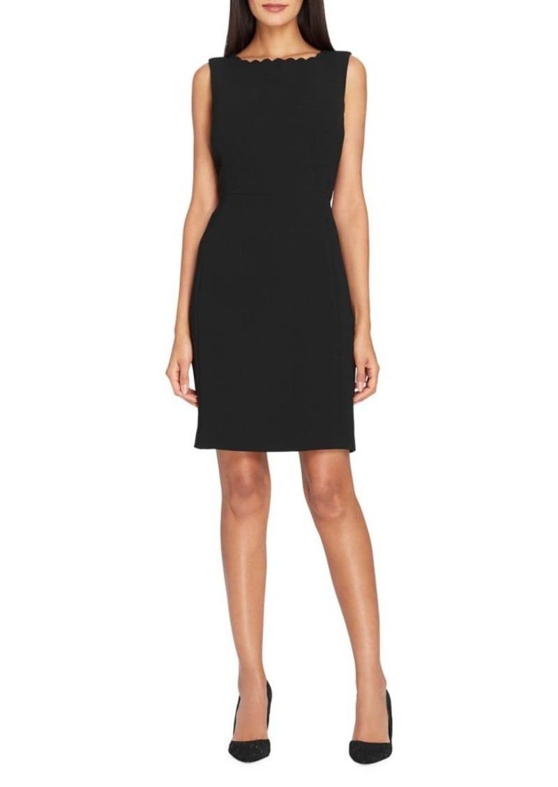 7be4f223d366 On Sale today! Tahari Tahari Arthur S. Levine Scalloped Sheath Dress