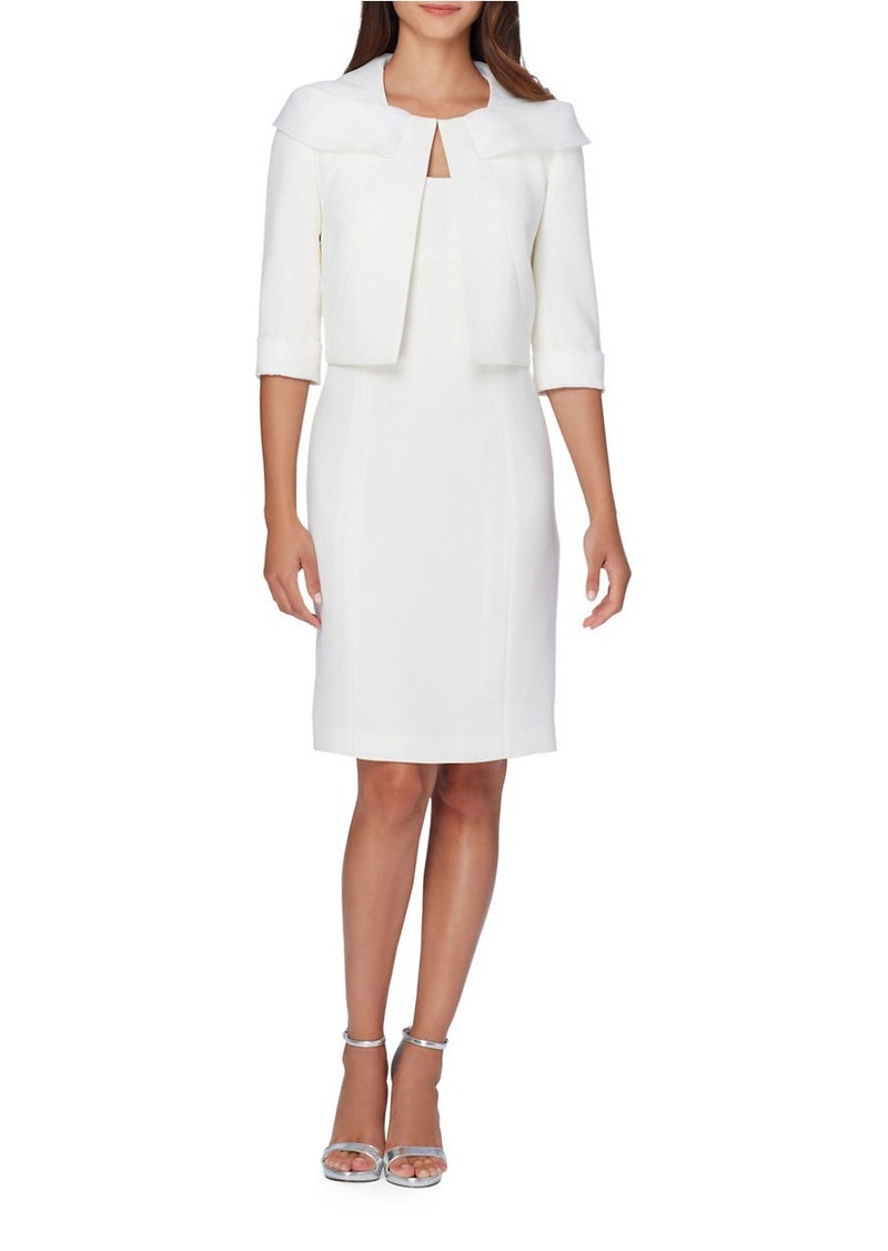 Tahari TAHARI ARTHUR S. LEVINE Sheath Dress and Jacket Set ...
