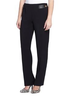 TAHARI ARTHUR S. LEVINE Side Zipper Trousers