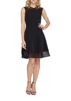 TAHARI ARTHUR S. LEVINE Sleeveless A-Line Dress
