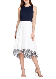 Tahari Arthur S. Levine Sleeveless Midi Dress