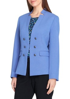 Tahari Arthur S. Levine Starneck Military-Button Jacket