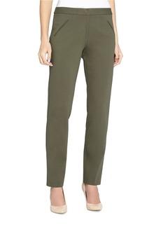 TAHARI ARTHUR S. LEVINE Straight-Leg Ponte Pants