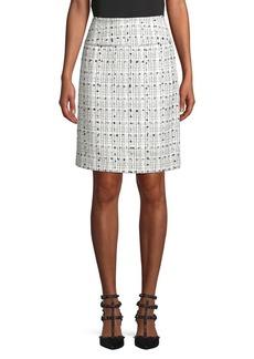 Tahari Arthur S. Levine Tweed Pencil Skirt