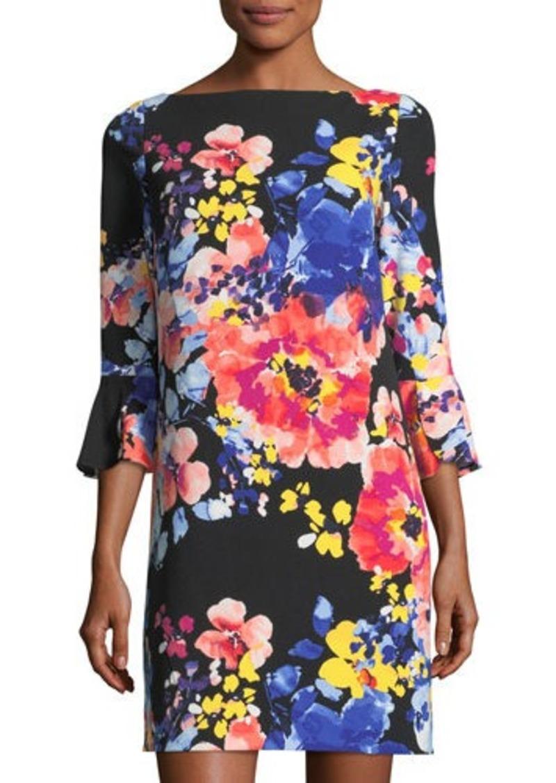 6b189d716b79 Tahari Tahari ASL 3/4-Sleeve Floral-Print Shift Dress
