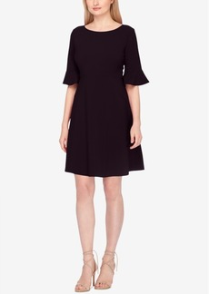 Tahari Asl Bell-Sleeve Fit & Flare Dress