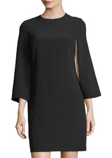 Tahari ASL Bell-Sleeve Shift Dress