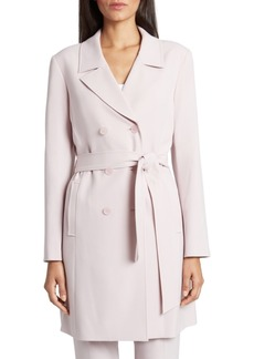 Tahari Asl Petite Belted Trench Jacket