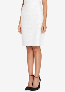 Tahari Asl Boucle Pencil Skirt