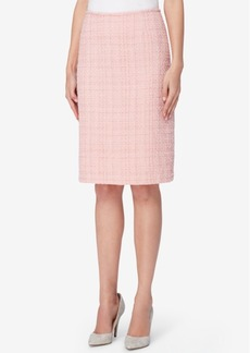 Tahari Asl Boucle Tweed Pencil Skirt