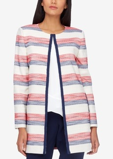 Tahari Asl Braided-Trim Blazer