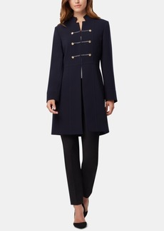 Tahari Asl Braided-Trim Topper Jacket
