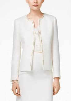Tahari Asl Chain-Link Embellished Jacket