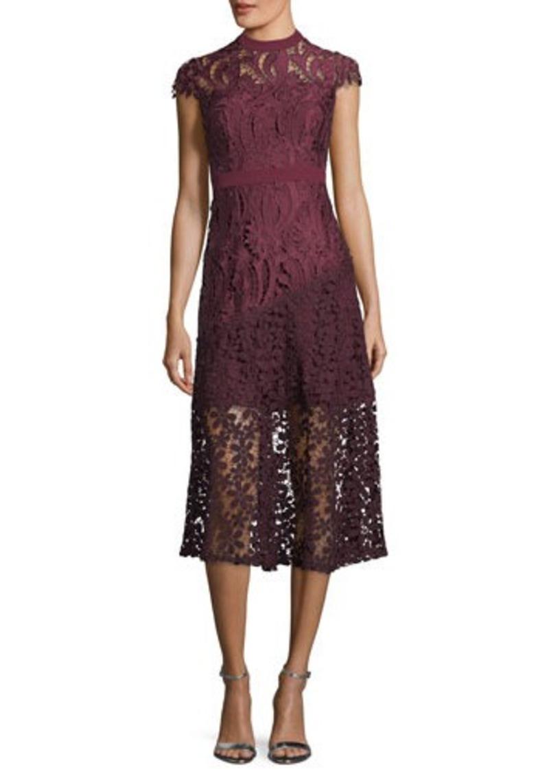 462090a7 Tahari Tahari ASL Chemical Lace Cap-Sleeve Dress