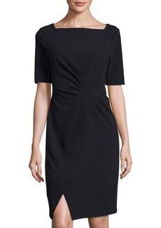 Tahari Chloe Half-Sleeve Sheath Dress
