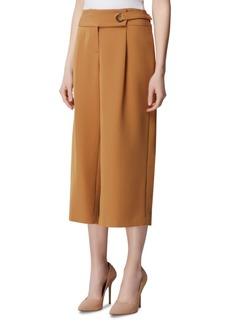 Tahari Asl Petite Cropped Wide-Leg Pants