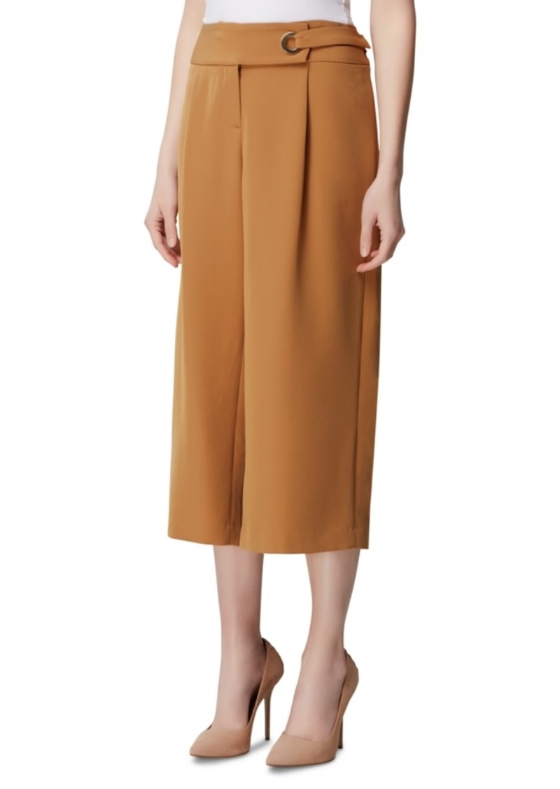 Tahari Asl Cropped Wide-Leg Pants