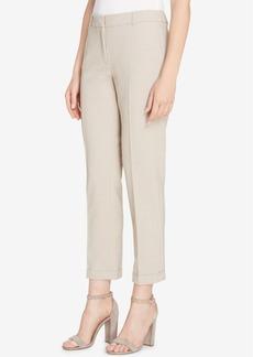 Tahari Asl Cuffed Trousers