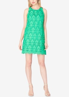 Tahari Asl Diamond Lace Shift Dress