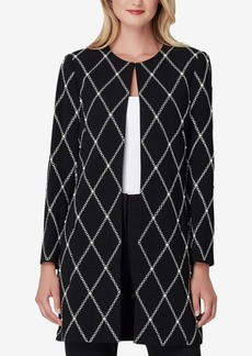 Tahari Asl Embroidered & Embellished Topper Jacket, Regular & Petite