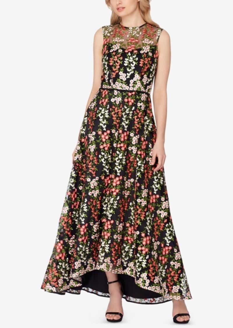 91f803abe1261 SALE! Tahari Tahari Asl Embroidered A-Line Gown