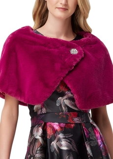 Tahari Asl Faux-Fur Shrug, Created For Macy's