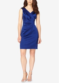 Tahari Asl Faux-Wrap Sheath Dress