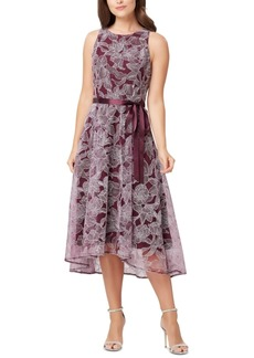 Tahari Asl Floral-Print Dress, Created for Macy's