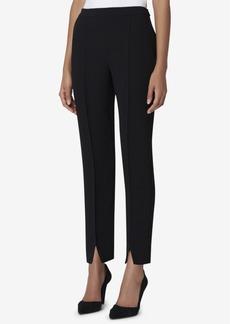 Tahari Asl Front-Slit Pants