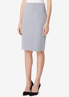 Tahari Asl High-Waist Pencil Skirt