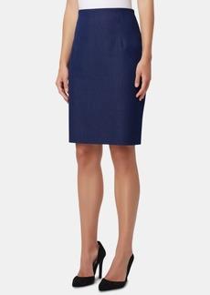 Tahari Asl High-Waisted Pencil Skirt