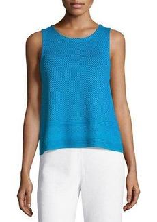 Tahari Jenny Textured Knit Top