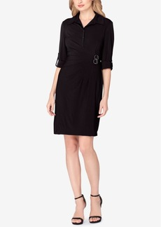 Tahari Asl Jersey Shirtdress