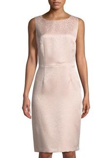 Tahari ASL Jolene Lace-Jacquard Dress