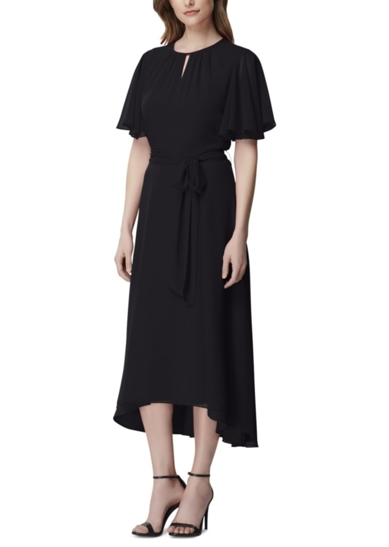 Tahari Asl Keyhole Midi Dress