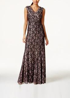 Tahari Asl Lace Gown
