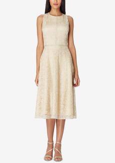 Tahari Asl Lace Midi Dress