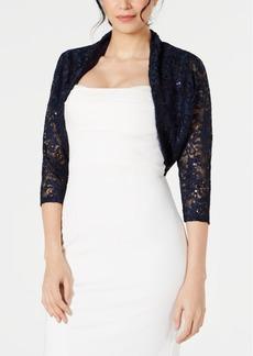 Tahari Asl Lace Shrug, Created for Macy's