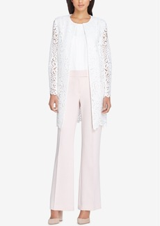 Tahari Asl Lace Topper Jacket