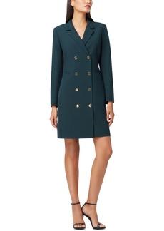 Tahari Asl Long-Sleeve Blazer Dress