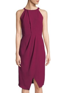 Tahari ASL Olga Halter-Neck Dress