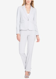 Tahari Asl One-Button Pantsuit