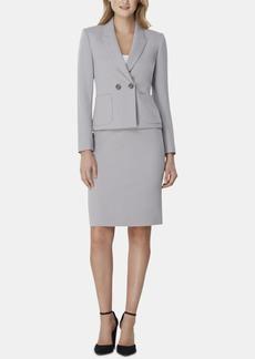 Tahari Asl Peak-Lapel Skirt Suit