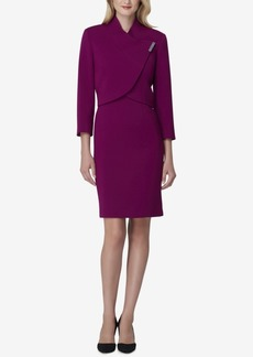 Tahari Asl Bar-Closure Dress Suit