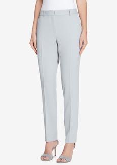 Tahari Asl Petite Extended-Tab Trousers